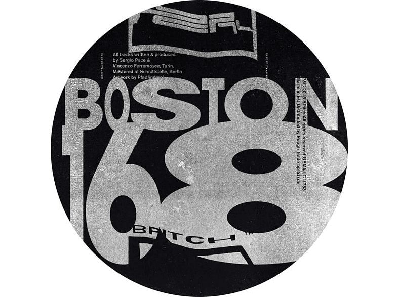 Boston 168 - Drops In Heaven EP [Vinyl]