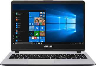 ASUS R507UA-BR277T, Notebook mit 15.6 Zoll Display, Core™ i5 Prozessor, 8 GB RAM, 1 TB HDD, 256 GB SSD, HD-Grafik 620, Stary Grey