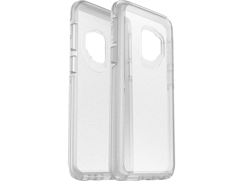 OTTERBOX Symmetry Clear stardust , Backcover, Samsung, Galaxy S9+, Transparent