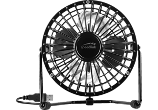 SPEEDLINK Tornado Metal USB Desk Fan, USB-Ventilator