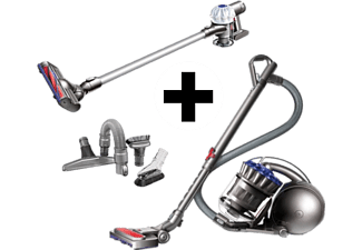 dyson akkustaubsauger v6 slim pro inkl zubeh r set und staubsauger ball multifloor mediamarkt. Black Bedroom Furniture Sets. Home Design Ideas