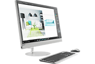 LENOVO IdeaCentre AIO 520, All-in-One PC, Core i5 Prozessor, 8 GB RAM, 512 GB SSD, Intel UHD-Grafik 630, Warm Silver
