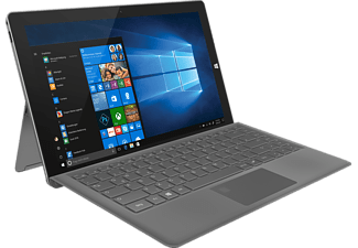 TREKSTOR Primetab T13B, Convertible mit 13.3 Zoll, 64 GB Speicher, 4 GB RAM, Pentium® Prozessor, Windows 10 Home, Dark Grey