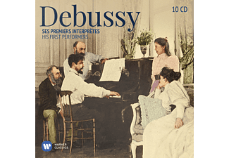 VARIOUS - Debussy: His First Performers [CD]