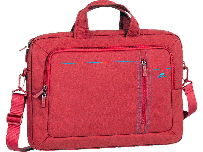 RIVA CASE 7530 Notebookhülle, Aktentasche, 15.6 Zoll, Rot