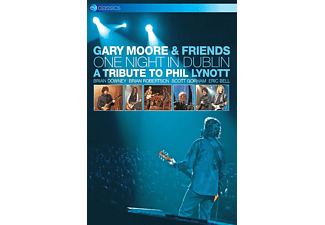 Gary & Friends Moore One Night In Dublin: Tribute To Phil Lynott Musik DVD