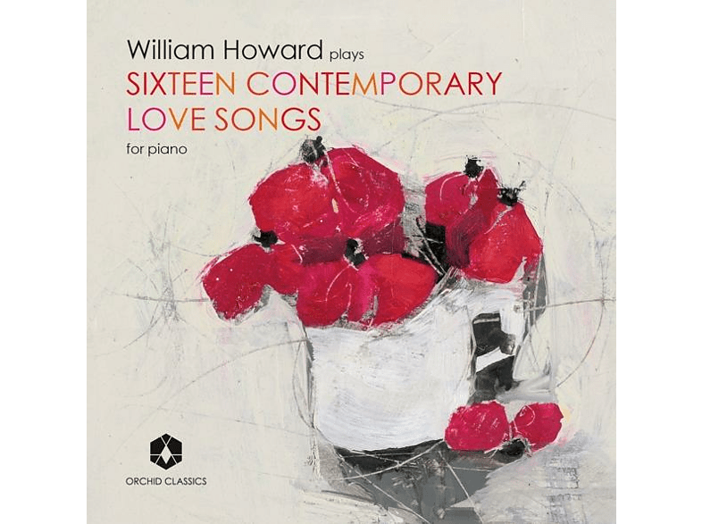 William Howard - Sixteen Contemporary Love Songs for piano [CD]