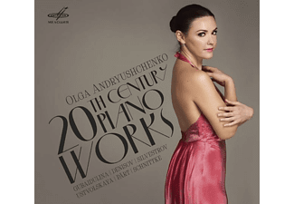 Andryushchenko Olga - 20th Century Piano Works - (CD)