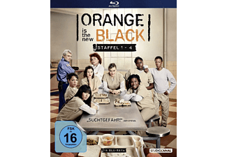 Orange is the new Black - Staffel 1-4 - (Blu-ray)