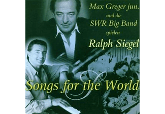 Max Greger Jr. - Songs For The World (Re-Release) - (CD)