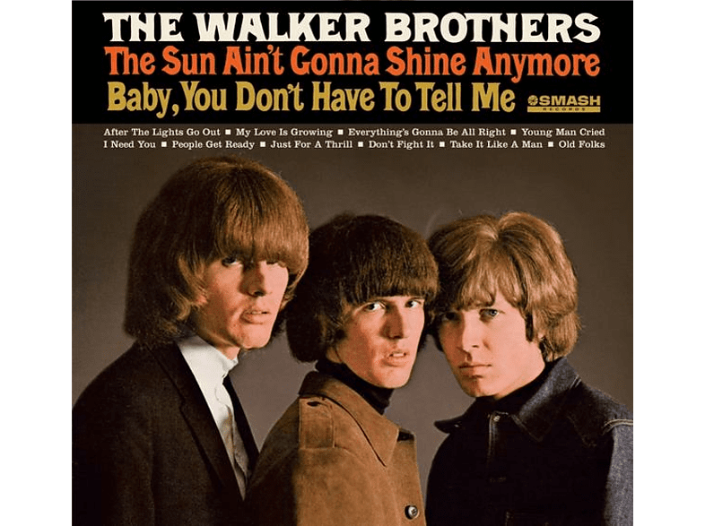 Brothers Walker - The Sun Aint Gonna Shine Anymore [CD]