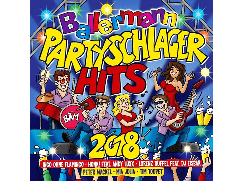 VARIOUS - Ballermann Partyschlager Hits 2018 [CD]