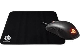 STEELSERIES RIVAL 110 MOUSE + QCK MOUSEPAD BUNDLE