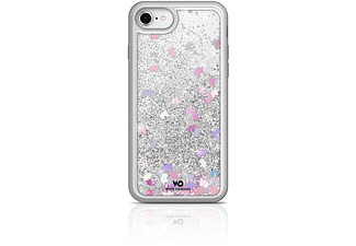 WHITE DIAMONDS Sparkle Handyhülle, Silber/Rosa, passend für Apple iPhone 6, iPhone 6s, iPhone 7, iPhone 8