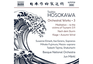Jun/basque No/+ Märkl - Orchesterwerke Vol.3 - (CD)