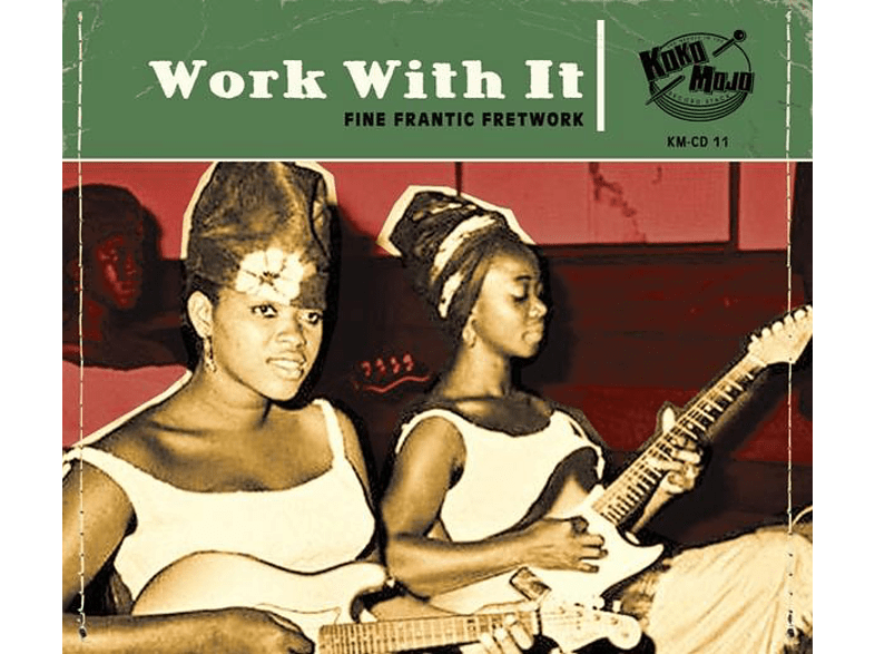 VARIOUS - Work With It [CD]