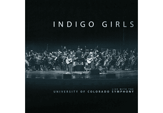 Indigo Girls - LIVE WITH THE UNIVERSITY OF COLORADO SYMPHONY ORCH - (CD)