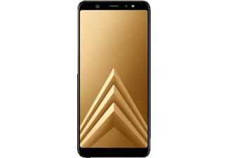 samsung galaxy a6 2018 32 gb gold dual sim smartphone. Black Bedroom Furniture Sets. Home Design Ideas