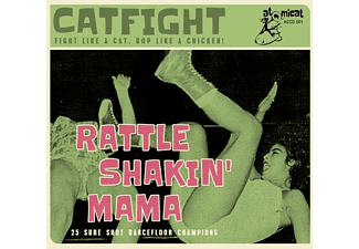 VARIOUS - Cat Fight Vol.1-Rattle Shakin' Mama - (CD)