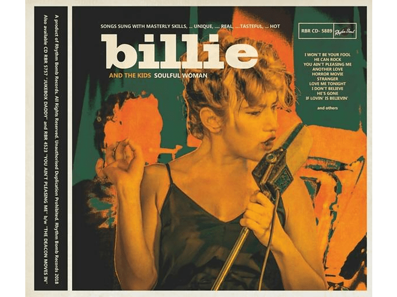 Billie And The Kids - Soulful Woman [CD]