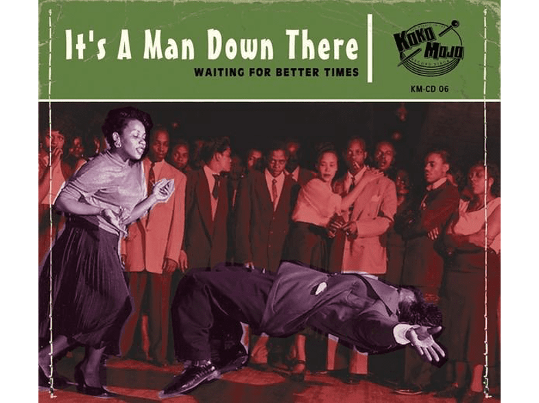 VARIOUS - It's A Man Down There [CD]