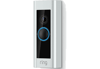 RING Video Doorbell Pro - Kit med Chime Ringklocka & Nätadapater