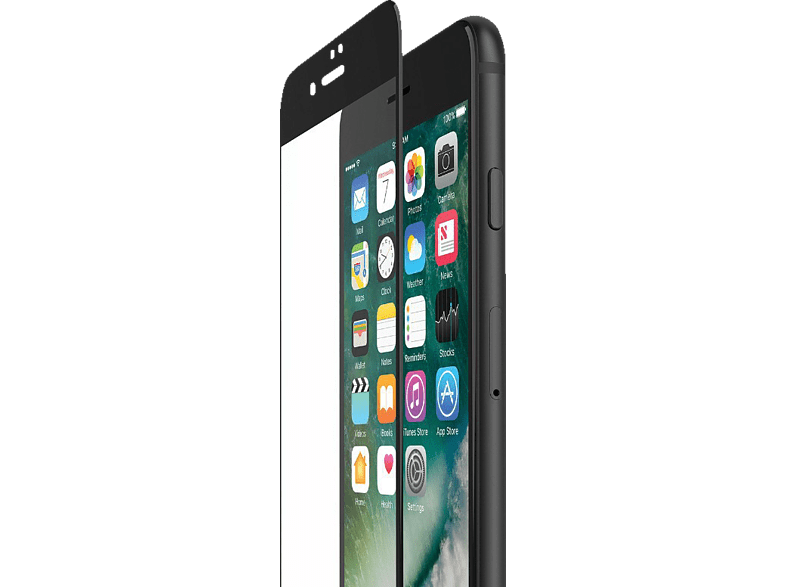 BELKIN  Tempered Curve Edge to Edge Displayschutzfolie Displayschutzfolie (Apple iPhone 6/iPhone 6s/iPhone 7/iPhone 8)   00745883748945