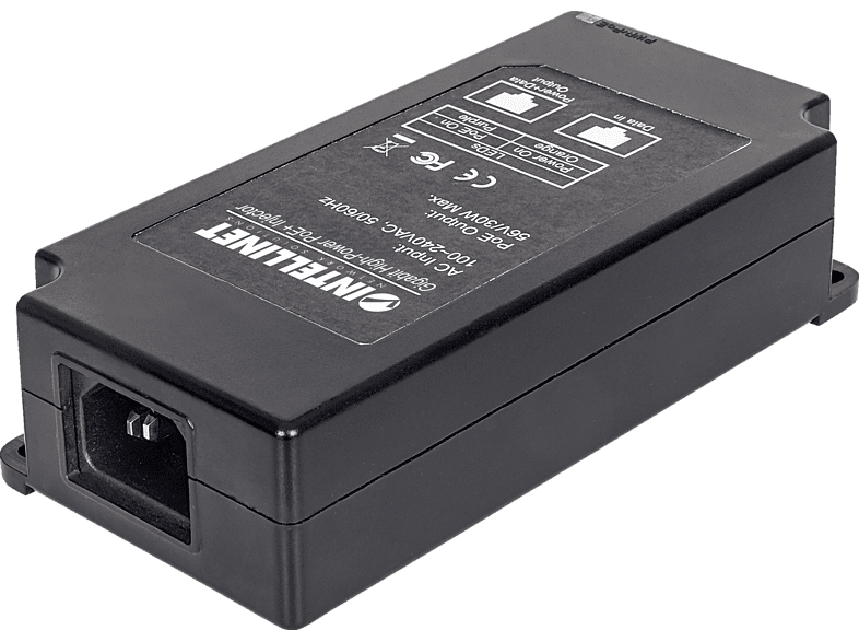 INTELLINET 561037 GIGABIT HIGH-POWER POE+INJEKTOR | 00766623561037