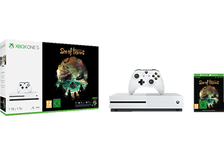 MICROSOFT Xbox One S 1TB Konsole - Sea of Thieves Bundle