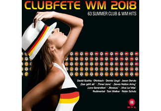 VARIOUS - Clubfete WM 2018:63 Club WM & Party Hits - (CD)