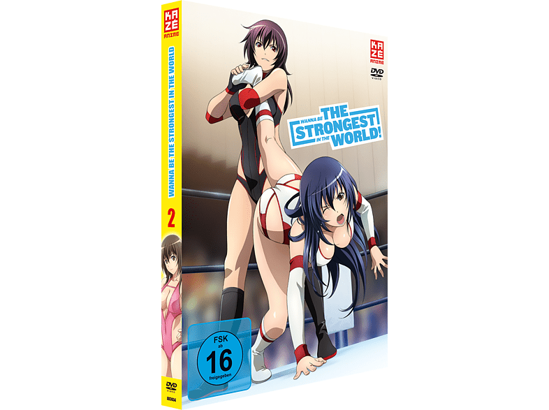 Wanna be the Strongest in the World 2 [DVD]
