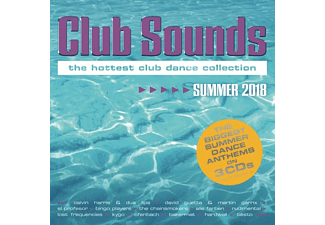 VARIOUS - Club Sounds Summer 2018 - (CD)
