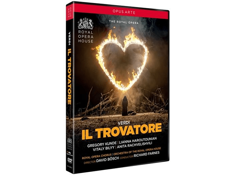 Orchestra Of The Royal Opera House - Il Trovatore (Glyndebourne) [DVD]