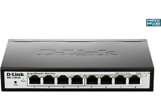 D-LINK DGS-1100-08 Smart Managed 8-Port Gigabit Switch