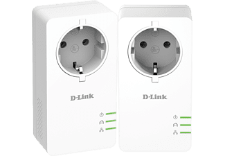 D-LINK PowerLine AV2 1000 HD Gigabit Passthrough Kit (DHP‑P601AV)