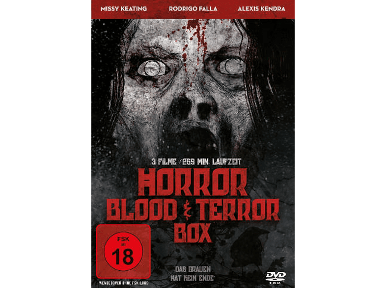 HORROR BLOOD AND TERROR BOX [DVD]