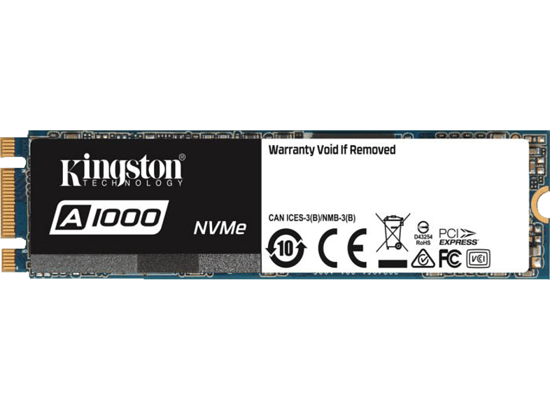 KINGSTON SA1000M8/240G, 240 GB mSSD, intern