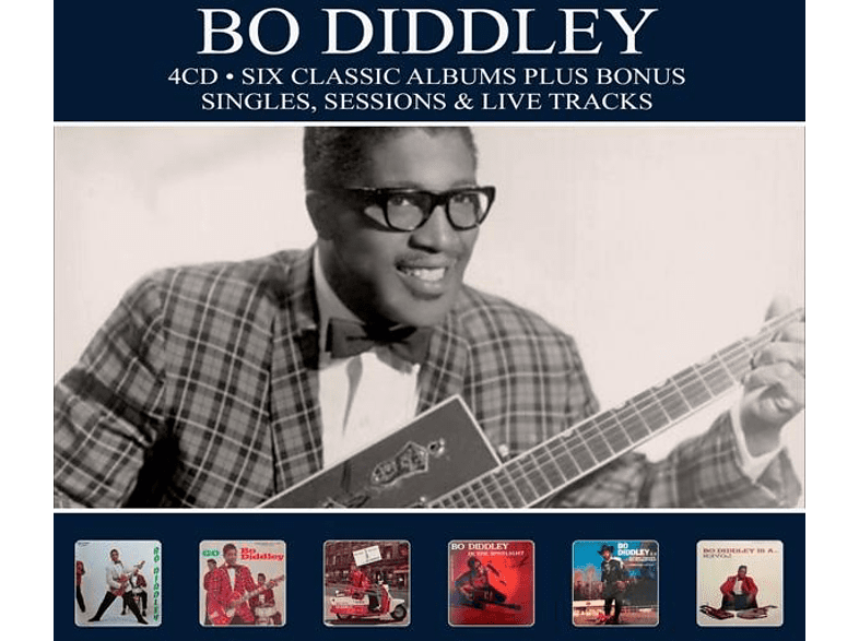 Bo Diddley - 6 Classic Albums Plus [CD]