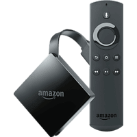 AMAZON Fire TV 4K mit Alexa-Sprachfernbedienung TV Stick, Schwarz
