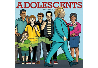 The Adolescents - Cropduster - (CD)