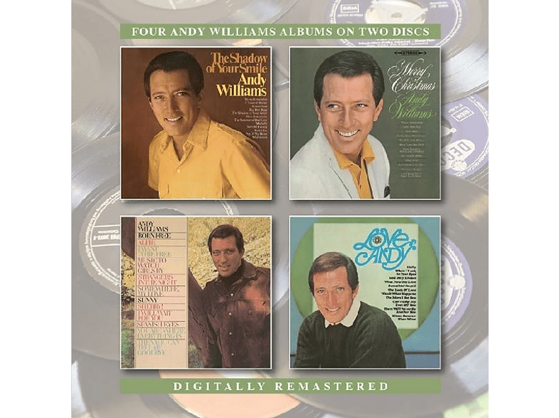 Andy Williams - Shadow Of Your Smile/Merry Christmas/Born Free/Lov [CD]