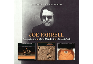 Joe Farrell - Penny Arcade/Upon This Rock/Canned Funk - (CD)