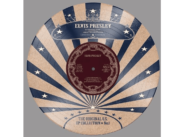 "Elvis Presley - US EP Collection Vol.1-Ltd.10"" Picture Disc [Vinyl]"