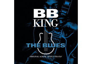 B.B. King - The Blues-Original Album  (transparent blau/gold - (Vinyl)