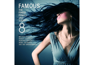VARIOUS - Famous 8-The Finest Female Jazz Today - (CD)