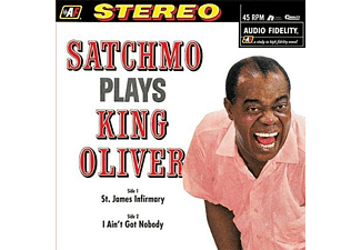 Louis Armstrong - Satchmo Plays King Oliver - (Vinyl)