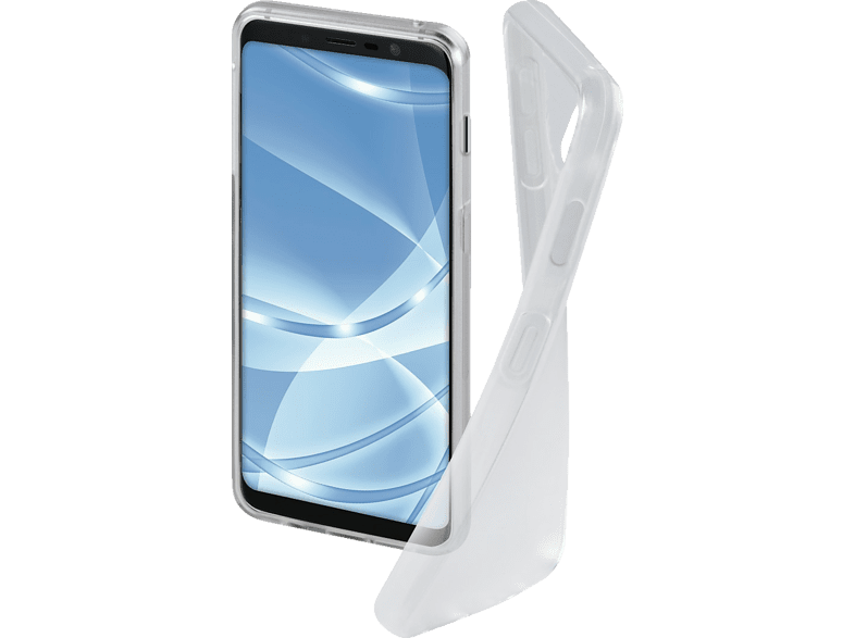 HAMA Crystal Clear Backcover Samsung Galaxy J6 Thermoplastisches Polyurethan Transparent