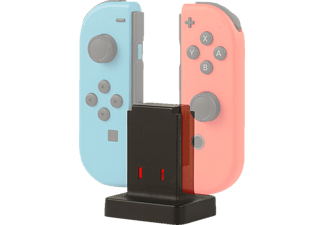 KONIX Dual Joy-Con Charger, Ladestation für Nintendo Switch, Schwarz