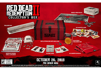 NGS UE Red Dead Redemption 2 - Collector Box (exklusive spel)