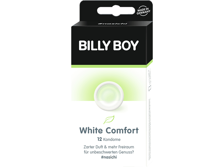 BILLY BOY WHITE COMFORT 12ER Kondome